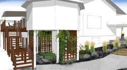Gardens & custom trellis