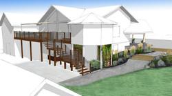 Deck design & path