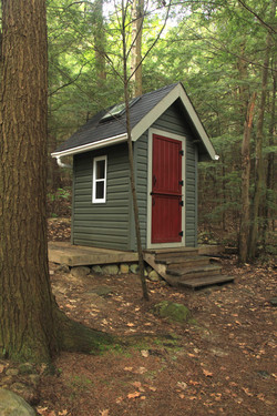 The Camp Outhouse