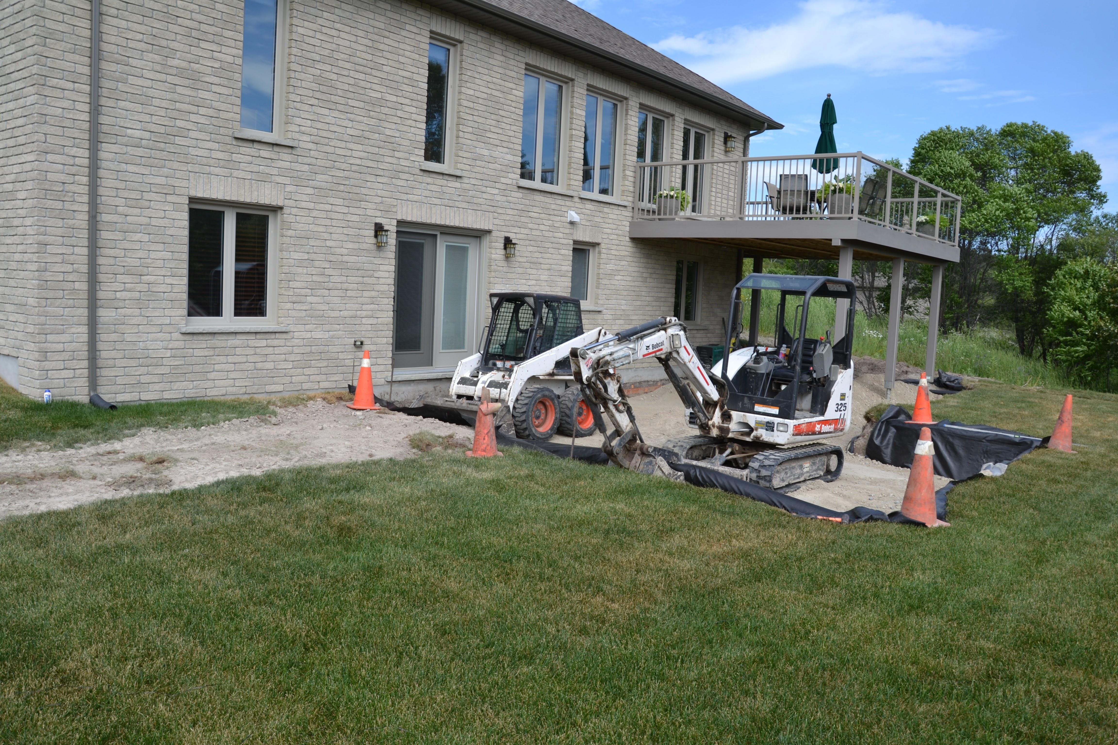 7 - Cavridge landscape CONSTRUCTION