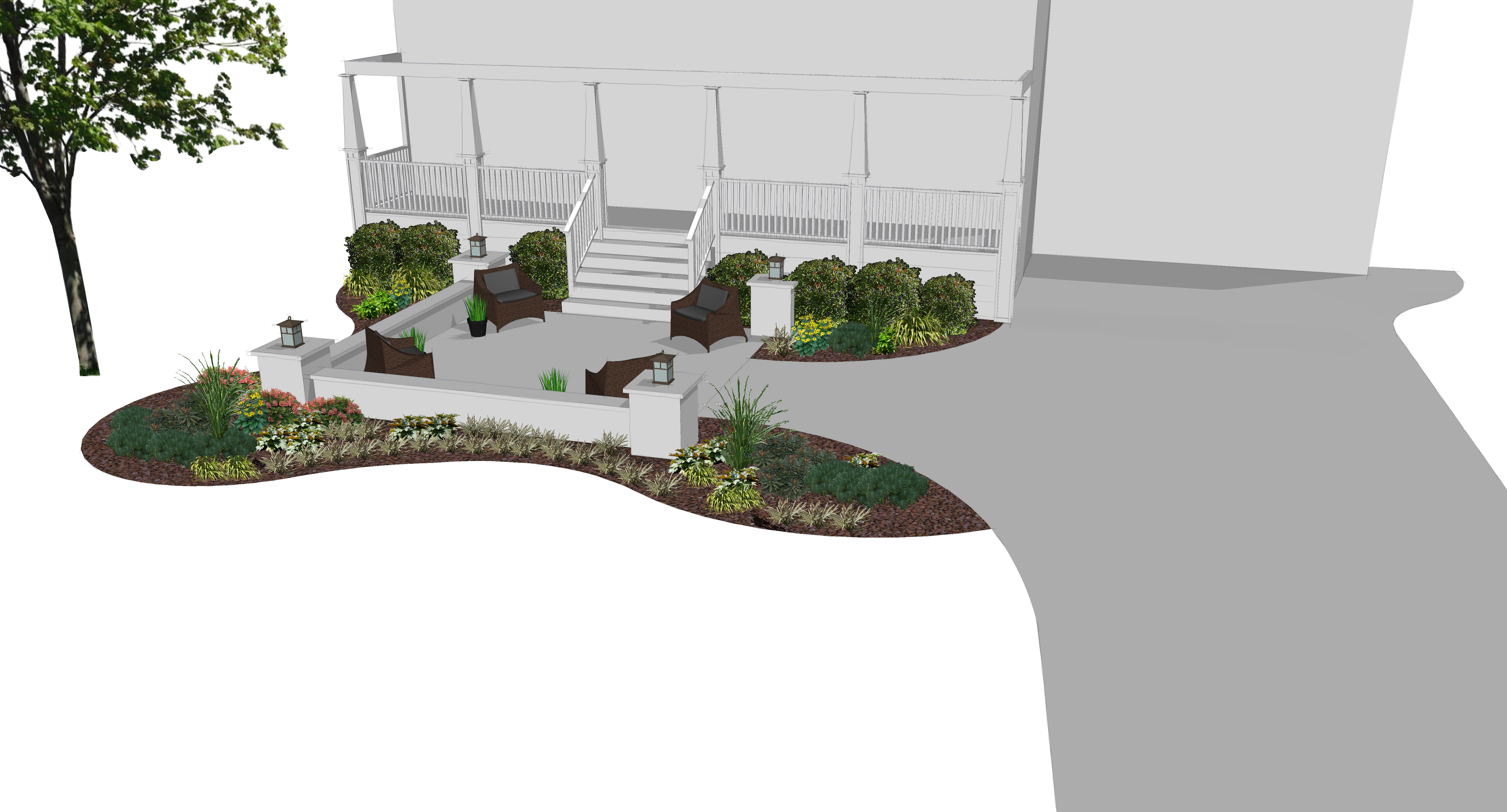 Front Entry Concept - View 1
