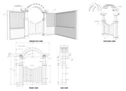 3D MODEL - DETAILING ARCH