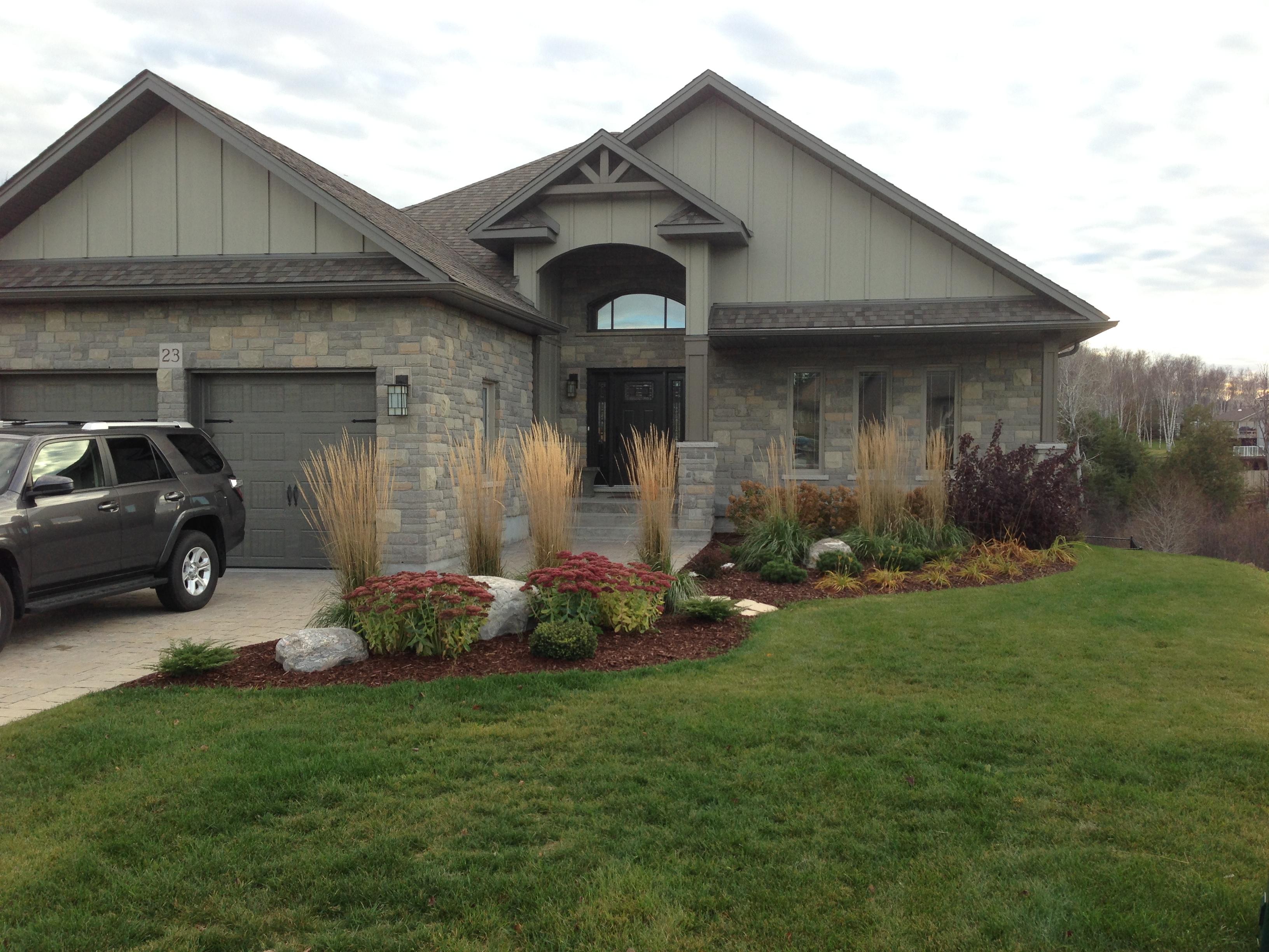 Finalized Front Garden