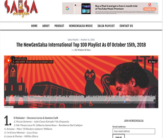 The NewGen Salsa International top 100