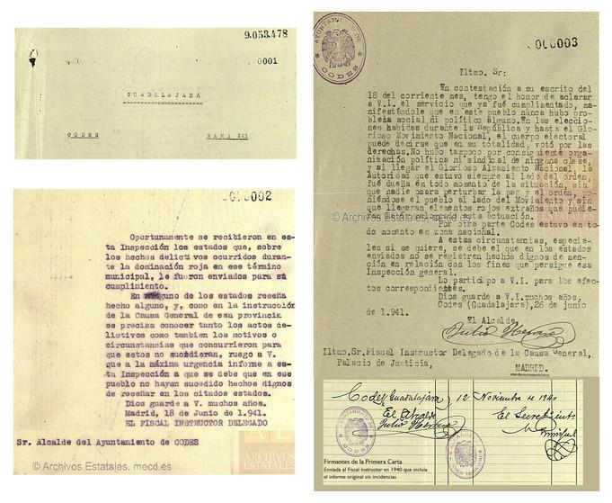 PROCESOS tras la Guerra Civil Española