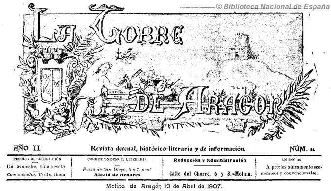 LA TORRE DE ARAGÓN Publicaciones