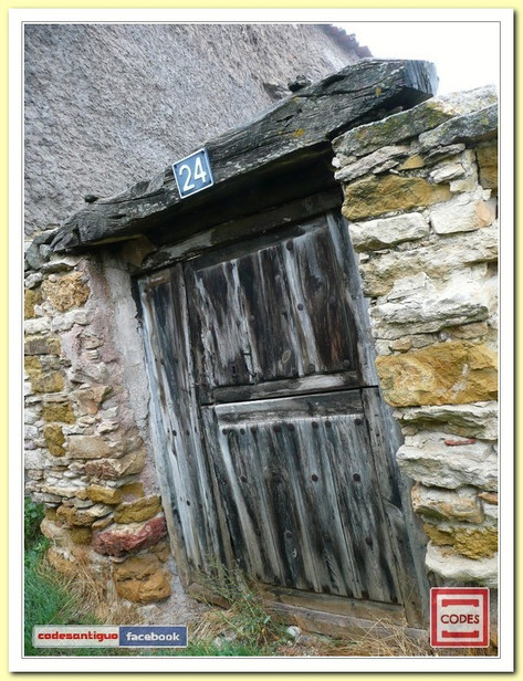 Puertas de casas antiguas...