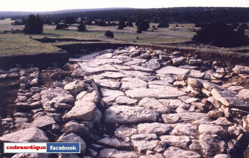 Detalle de las Excavaciones realizadas en el año 1994