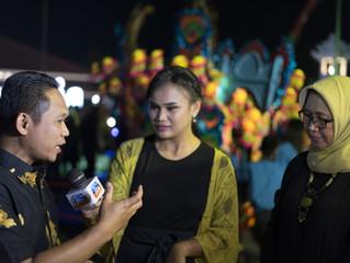 Festival jaran kencak menghiasi malam minggu di kabupaten lumajang