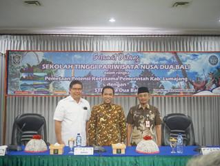 Jalin Kerjasama Lumajang dengan Sekolah Tinggi Pariwisata Nusa Dua Bali.