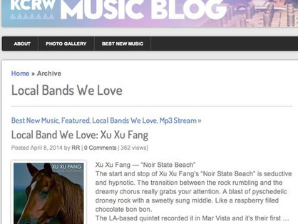 KCRW Local Band We Love