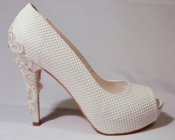 High Heel lace Stiletto