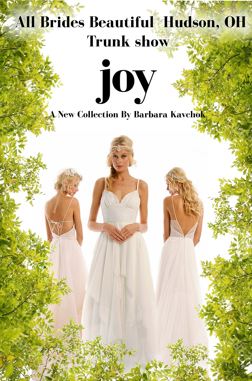Joy Trunk show in Hudson, OH