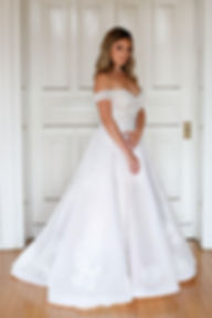 Wedding Dress, Barbara Kavchok, Modern & Contemporary
