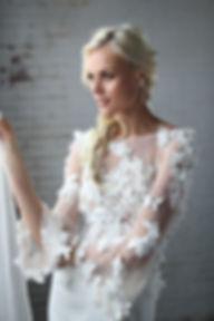 Sexy Sleek wedding dress