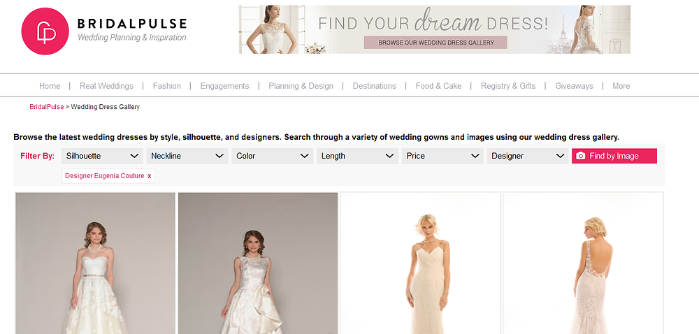 Bridal Pulse Wedding Dress Gallery