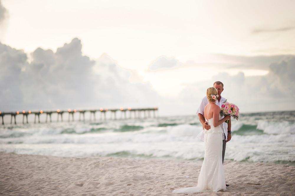 Beach Wedding Real Bride