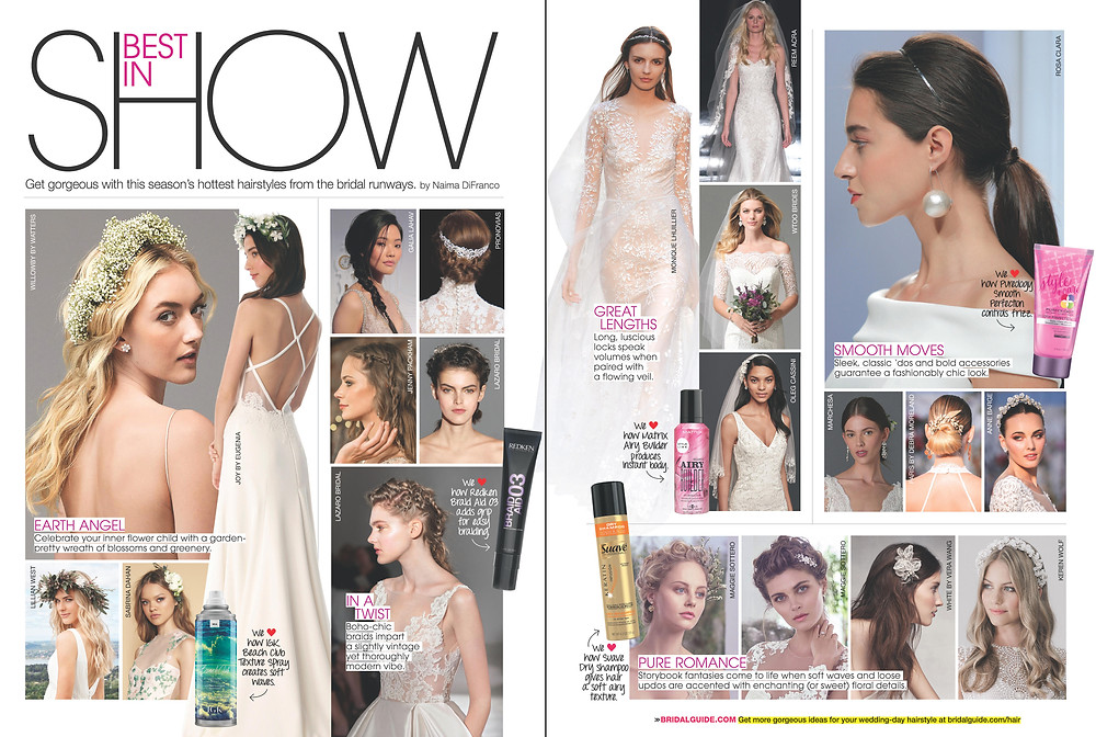 Joy Collection featured in Bridal Guide