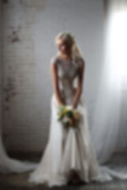 Vintage lace wedding dress Best seller, popular wedding dress