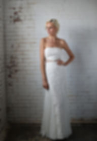 strapless lace wedding dress Best seller, popular wedding dress