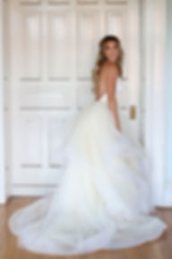 wedding dress overskirt