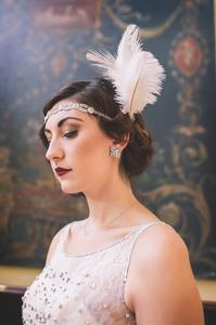1920 Wedding headpiece