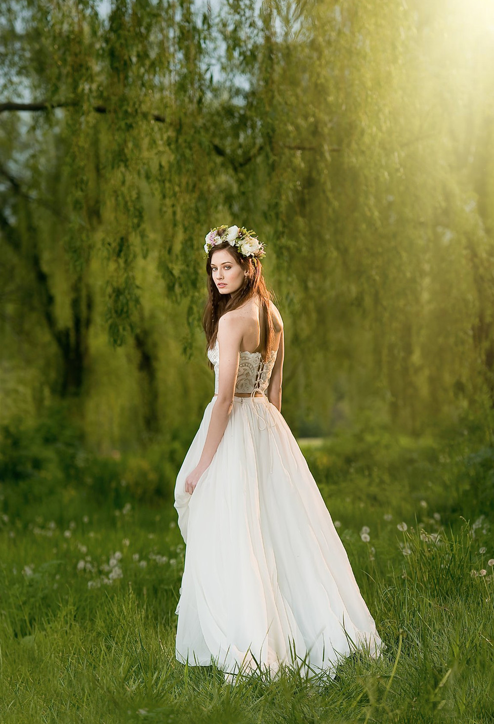 Boho Wedding Dress by Eugenia Couture