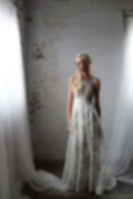 silver not white wedding dress colorful