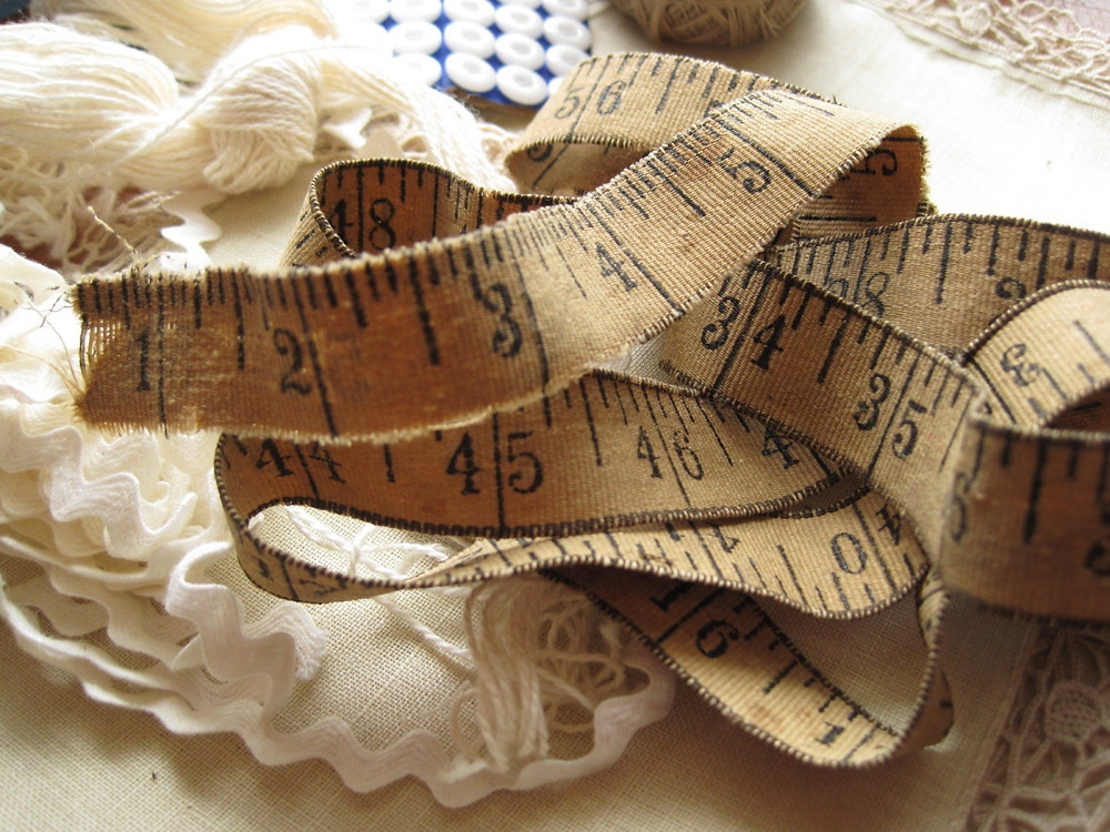 vintage measuring tape