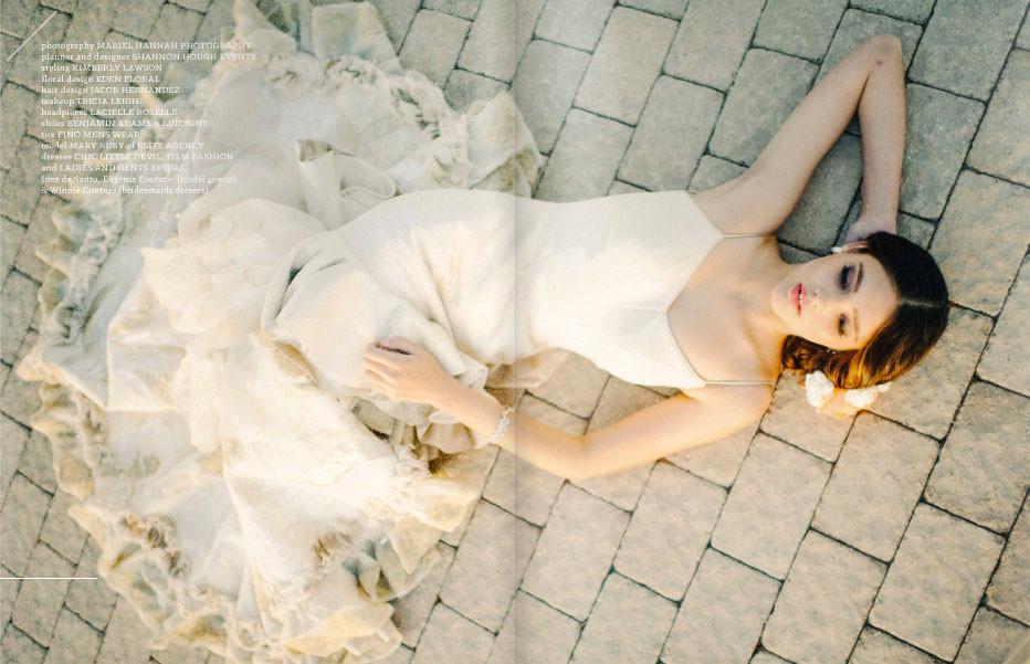 Burlap Wedding Dress- Eugenia Couture