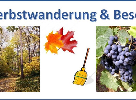 Herbstwanderung & Besen
