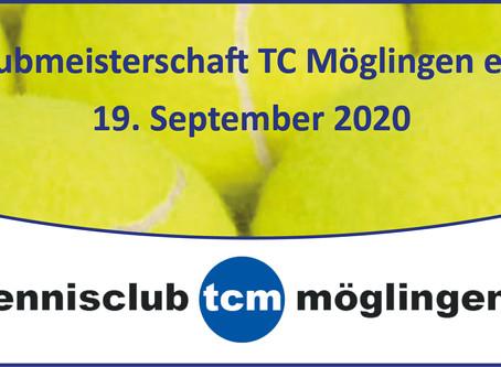 Clubmeisterschaften 2020