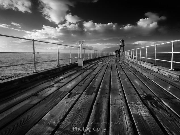 A Stroll On The Pier