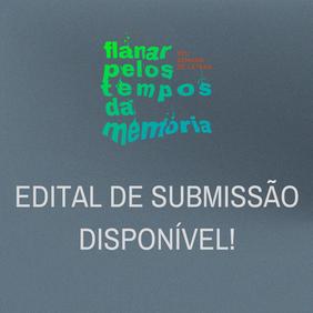 EDITAL PARA A XIII SEMANA DE LETRAS