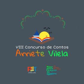 Edital para o VIII Concurso de Contos Arriete Vilela
