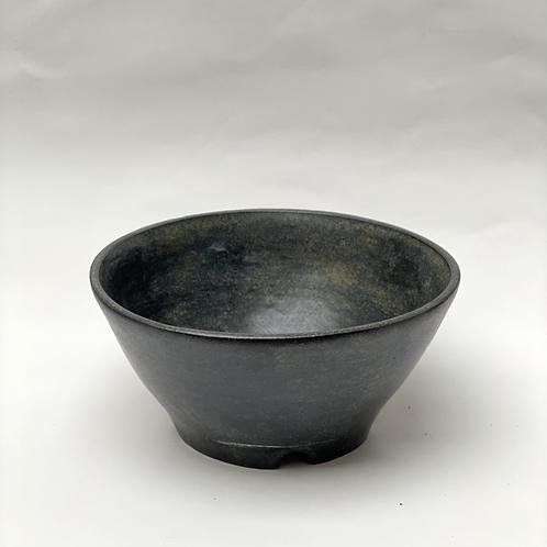 Dark bowl, 12 x 5 cm