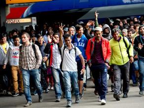 В Прибалтику поехали мигранты с Ближнего Востока
