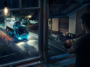 Концерн Volvo создал «грузовик-невидимку» для работы по ночам