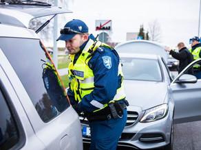 В Эстонии прошли масштабные проверки документов у пассажиров автотранспорта