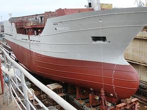 В Калининграде спущен на воду очередной траулер нового поколения
