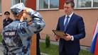 Росгвардейцев наградили за обеспечение безопасности на чемпионате мира