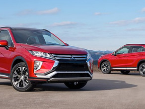 В апреле стартуют продажи нового кроссовера Mitsubishi Eclipse Cross