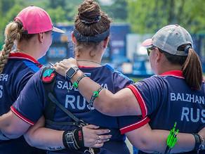 Калининградская лучница выиграла золото этапа кубка мира в составе сборной России