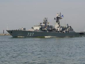 Моряки Балтфлота приступили к дежурству в Аденском заливе