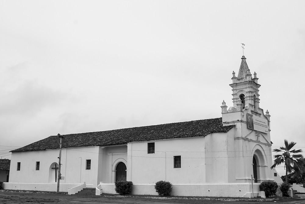 Iglesia de Santo Domingo de Guzmán, Parita, 11 de septiembre de 2016 – Foto: Carlos Cruz