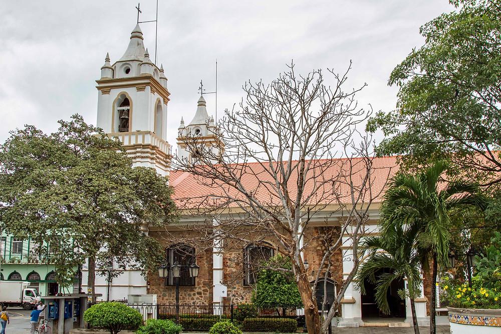 La Catedral de San Juan Bautista en Chitré