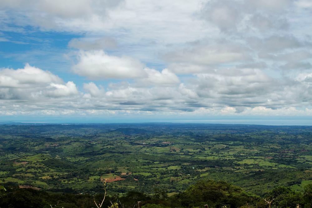 Vista desde lo alto del Cerro Canajagua, 13 de septiembre de 2016 – Foto: Carlos Cruz
