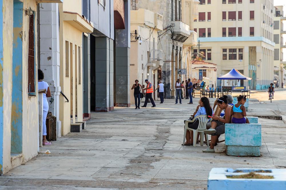 Viviendas frente al Malecón