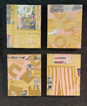 Blushing Linens Minis I,II,III, & IV  10