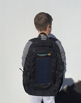 Black Day Pax - Solar Powered Backpack